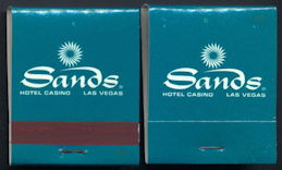 #TM096 - Full Unused Pack Las Vegas Sands Hotel Casino Matches
