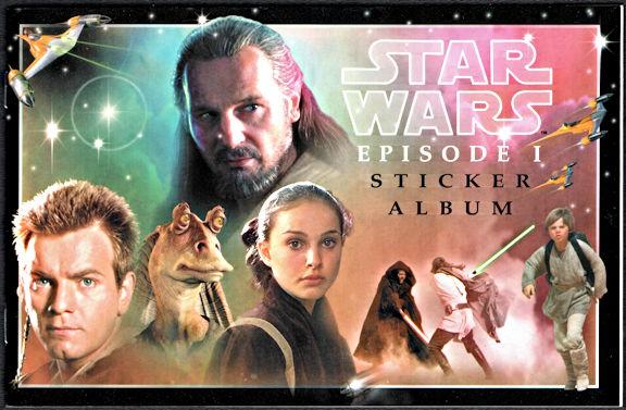 #CH426 - Star Wars Episode 1 Phantom Menace Sticker Album