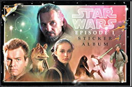 #CH426 - Star Wars Episode 1 Phantom Menace Sticker Album
