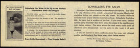 #ZZZ068 - Schneller's Eye Salve and Eye Water Literature