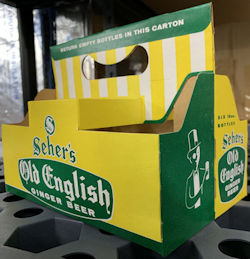 #SOZ120  - Seher's Old English Ginger Beer Six Bottle Carton