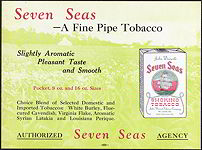 #SIGN065 - Seven Seas Pipe Tobacco Sign