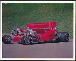 #MS299 - 1969 Sex Machine Show Car Print - Jay Ohrberg