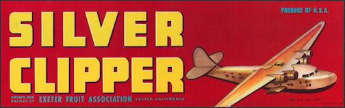 #ZLSG073 - Silver Clipper Grape Crate Label