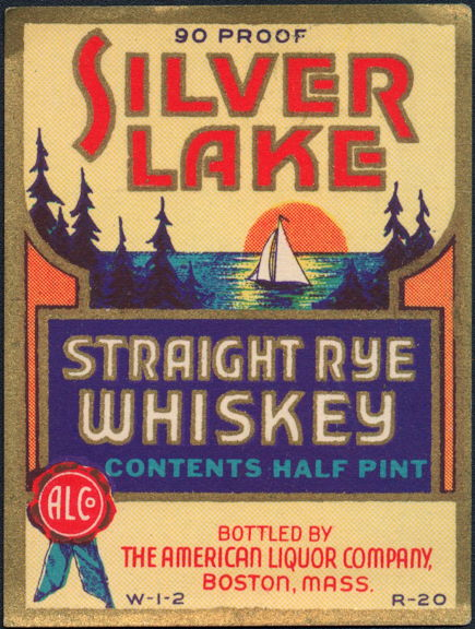 #ZLW105 - Silver Lake Whiskey Label