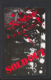 ##MUSICBP0194 - Slash and Friends Sold Out Backstage Pass - as low as $3 each