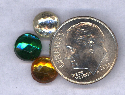#BEADS0370 - Small Assorted Color Rauten Rose Rhinestones - As low as 8¢ each