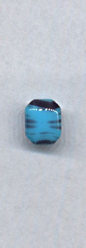 #BEADS0750 - 10mm Blue and Purple Colored Glass Cabochon - As Low as 10¢ each