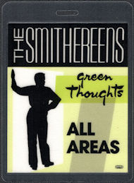 ##MUSICBP0503 - 1988 The Smithereens laminated backstage pass from the Green Thoughts Tour