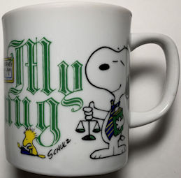 #CH446 - Snoopy and Woodstock Occupational Mug - Japan