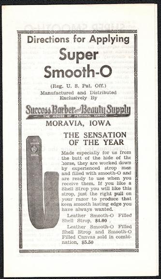 #ZZZ183 - Super Smooth-O Razor Strop Brochure