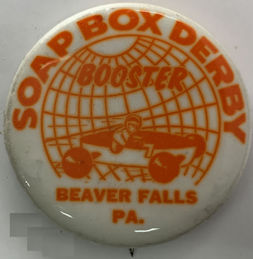 #BA030 - Soap Box Derby Pinback