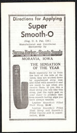#ZZZ183 - Super Smooth-O Razor Strop Brochure