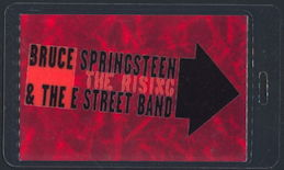 ##MUSICBP0320  - Bruce Springsteen & The E Street Band Laminated OTTO Backstage pass from The Rising Tour