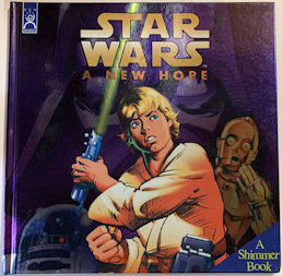 #CH450 - Star Wars A New Hope Hardback Shimmer Book