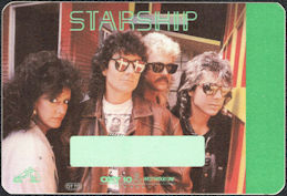 ##MUSICBP0198 - Starship OTTO Backstage Pass from the 1985/86 Knee Deep in the Hoopla Tour
