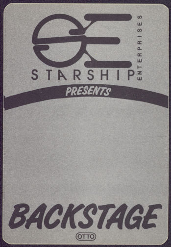 #CH268 - Group of 4 Star Trek Convention OTTO Cloth Backstage Passes