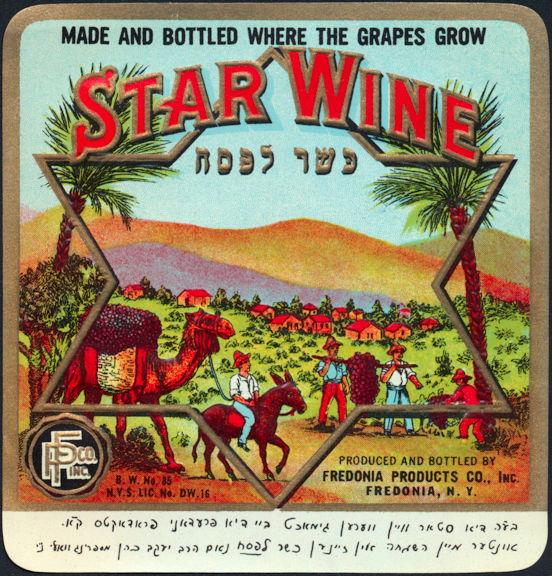 #ZLW089 - Star Wine Label