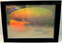 #CH462 - Star Trek Next Generation Hologram Paperweight
