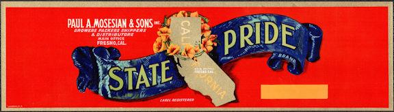 #ZLSG102 - State Pride Grape Crate Label