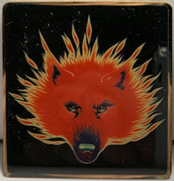 ##MUSICBG0145 - Licensed Stanley Mouse Magnet Featuring a Steppenwolf (Rock Group) Emblem