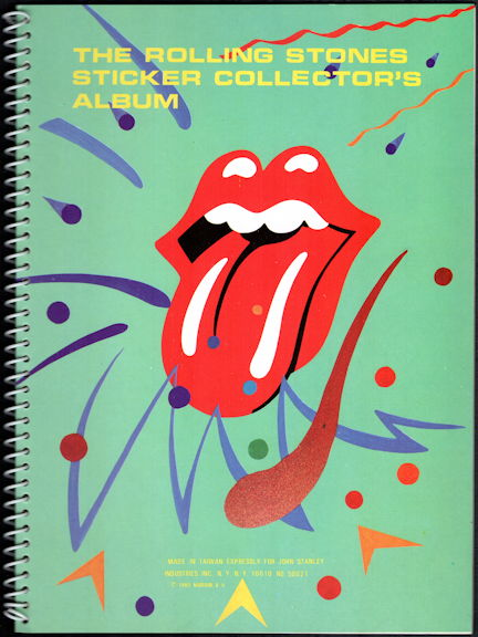 ##MUSICBG0116 - Rolling Stones Collector's Album Sticker Book