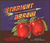 #ZLC354 - Straight Arrow Apple Crate Label