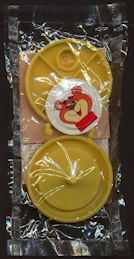 #CH391 -  Group of Three Different Sugar Crisp Sugar Bear Pill Puzzle Yo Yo Premium Giveaways