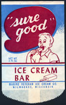 #PC097 - Sure Good Ice Cream Bar Wrapper
