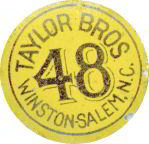 #TOP005 - Taylor Bros. 48 Tobacco Tag