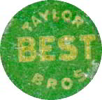 #TOP006 - Taylor Bros. Best Tobacco Tag