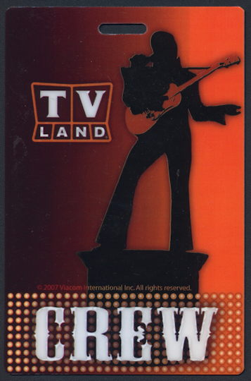 #CH367 - Hard Plastic OTTO Pass for the 2007 TV Land Award Show - As low as $1 ea