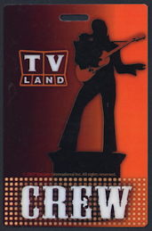 #CH367 - Hard Plastic Pass for the 2007 TV Land Award Show - As low as $1 ea