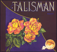 #ZLC302 - Talisman Sunkist Orange Crate Label