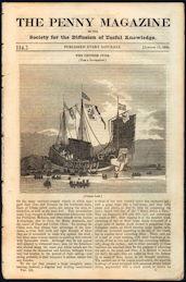 #ZZZ162 - 1840s The Penny Magazine