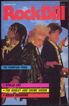 ##MUSICBG0047 - October 1985 RockBIll Magazine - The Thompson Twins Cover