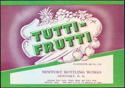 #ZLS022 - Tutti-Frutti Soda Label