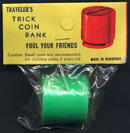 #TY786 - Traveler's Trick Coin Bank - As low as $1 each