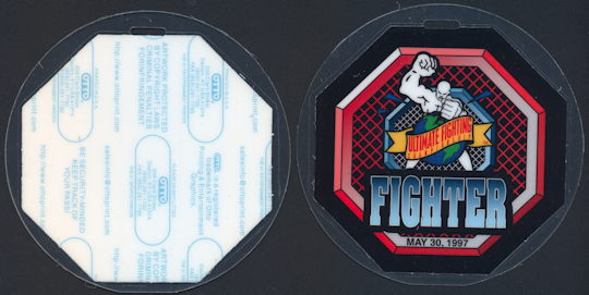 #BA711 - Laminated OTTO Backstage Pass for The Ultimate Fighter Championship in 1997 - As low as $5 each