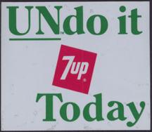 #SOZ057  - 7UP Undo it Door Sticker