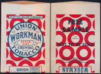 #TOP060 - Union Workman Free Sample Tobacco Bag