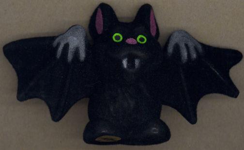 #HH155 - Plush Halloween Vampire Bat Decoration
