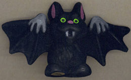 #HH155 - Plush Halloween Vampire Bat Decoration