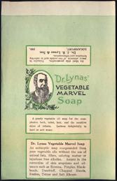 #ZBOT410 - Dr. Lynas Marvel Soap Bar Wrapper Label