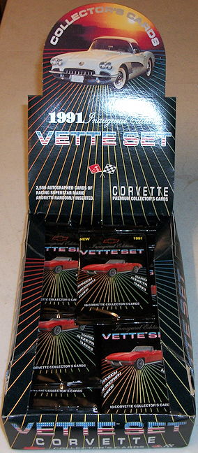 #ZZA247 - Factory Sealed Unopened Display box of 36 Packs of Corvette Cards - Vette Set