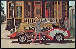 #CA504 - 1960s Voxmobile Hippie Postcard Print - George Barris