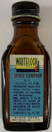 #CS465 - Full Bottle of Whitelock Spirit of Camphor - Baltimore, MD