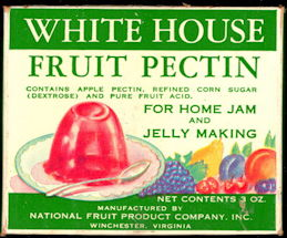 #CS418- Full Box of White House Brand Fruit Pectin
