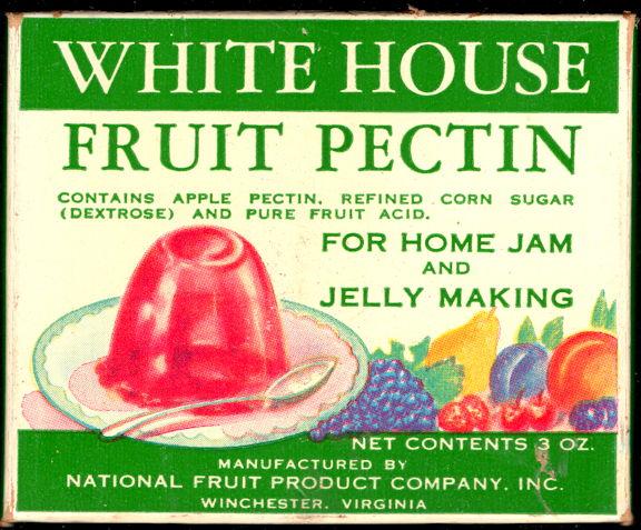 #CS418- Full Box of White House Brand Fruit Pectin