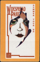 ##MUSICBP0529 - Widespread Panic OTTO Cloth Backstage Pass from the Summer 95 Tour